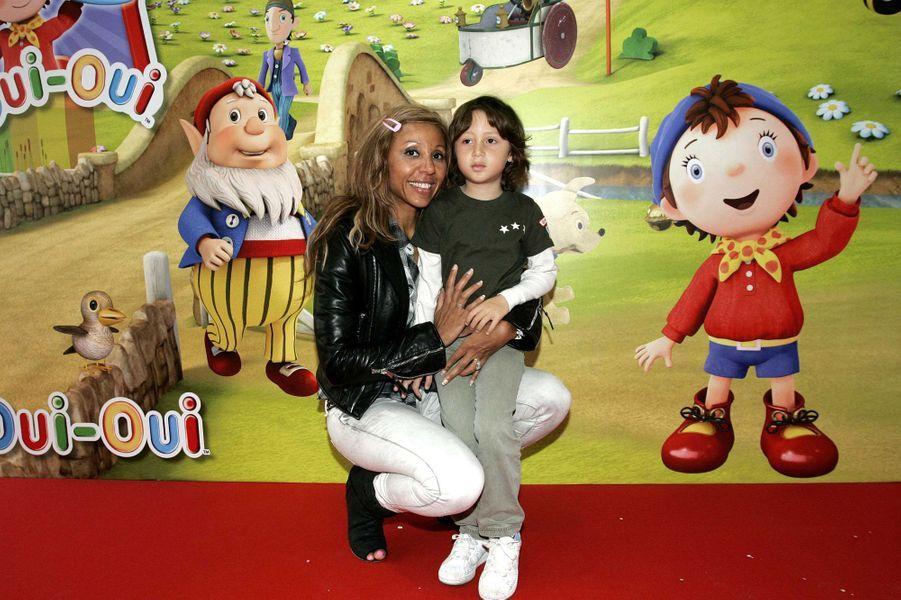 Tim Elvis Guetta et sa mère Cathy en 2009.