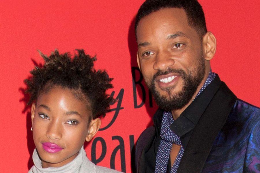 Will Smith et sa fille Willow en 2015