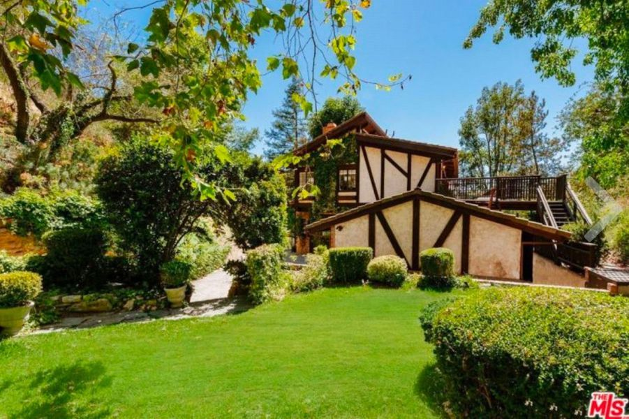 La villa de Cher à Beverly Hills