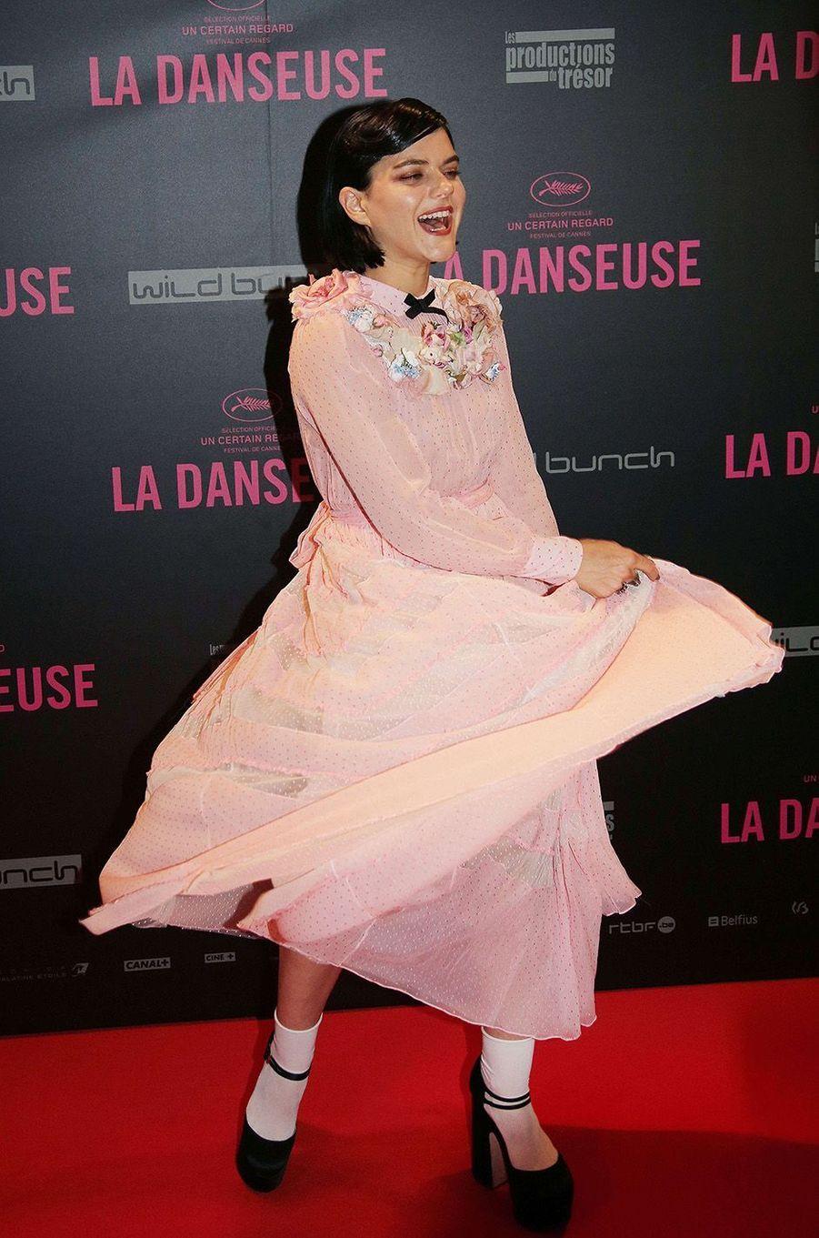 Soko au Gaumont Opéra à Paris, lundi 19 septembre 2016.