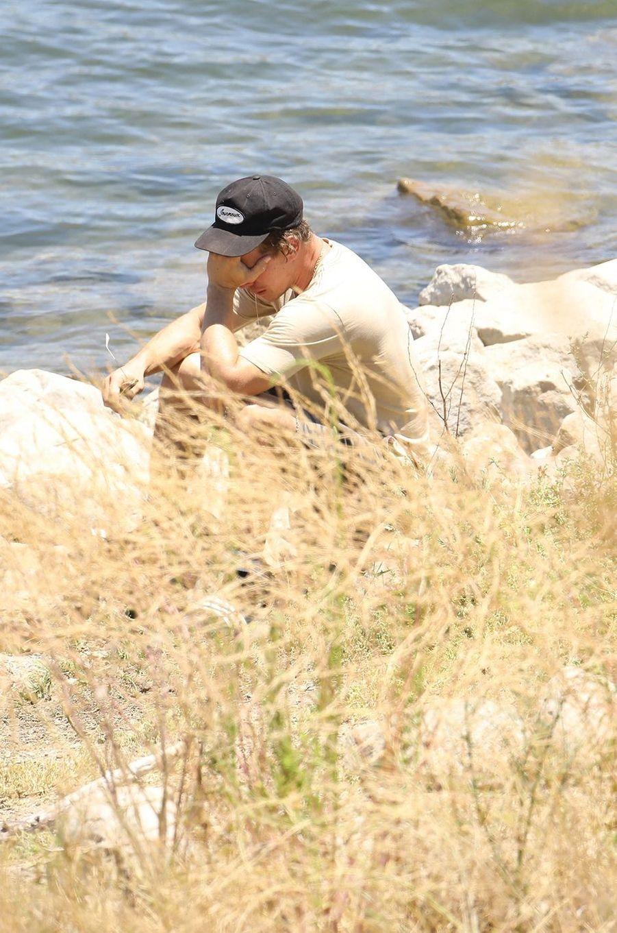 Ryan Dorsey au lac Piru le 11 juillet 2020