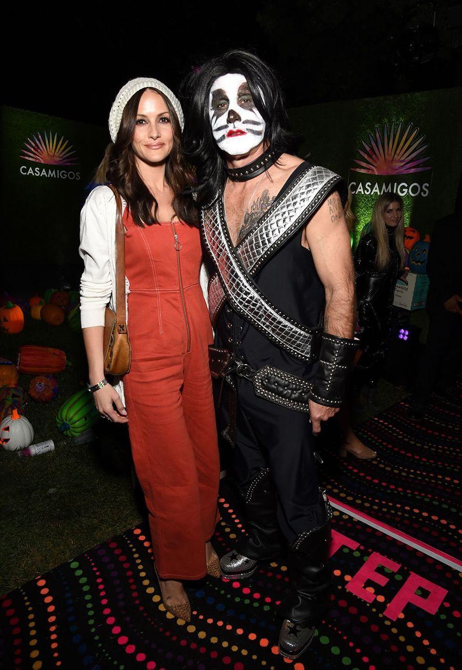 David Arquette et son épouse Christina McLartyà la soirée Casamigos organisée pour Halloween à Los Angeles le 25 octobre 2019
