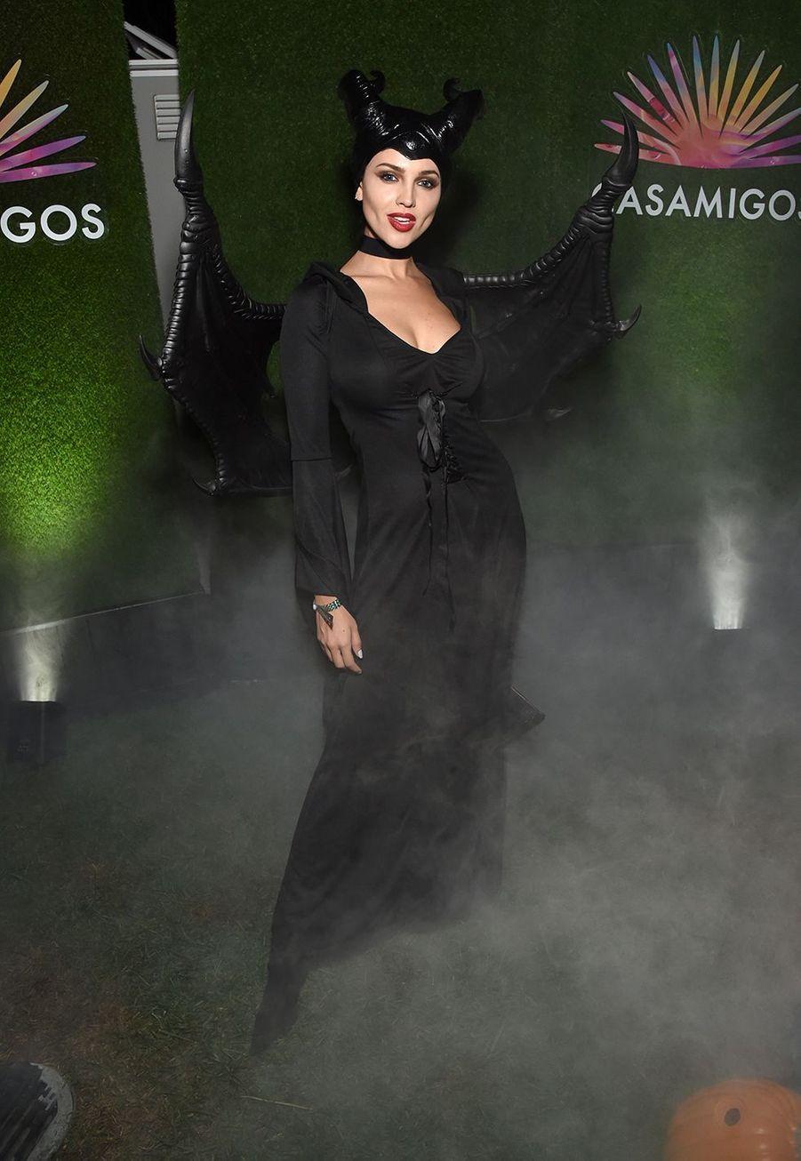 Eiza Gonzalezà la soirée Casamigos organisée pour Halloween à Los Angeles le 25 octobre 2019