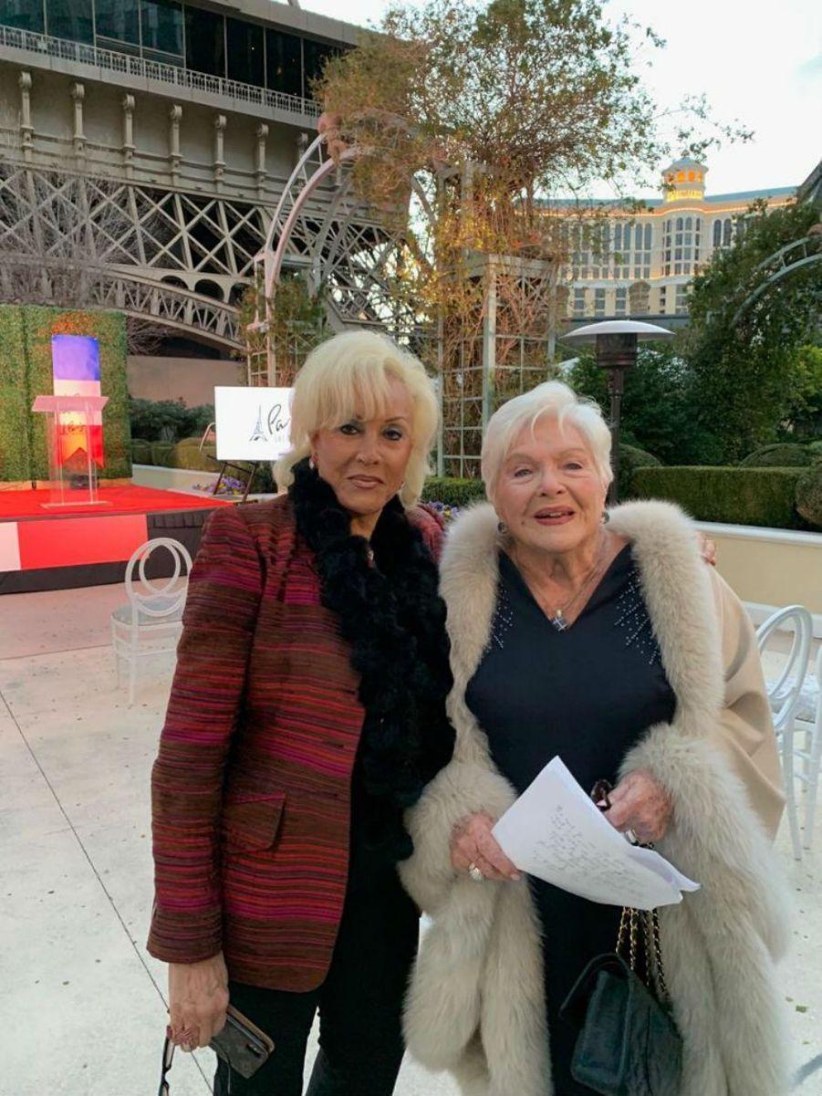 Line et sa meilleure amie Annee, une amitié de 50 ans.