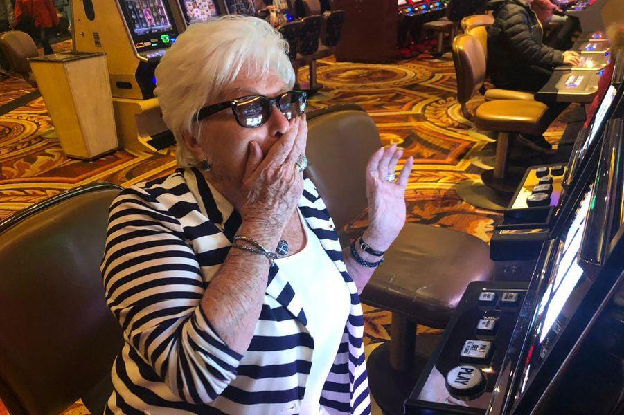 Au casino à Vegas.