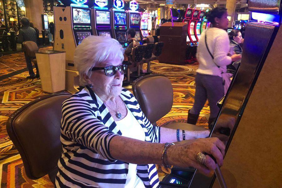 Pause au casino à Vegas.