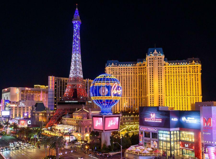 L'hôtel Paris Las Vegas, inauguré en septembre 1999.