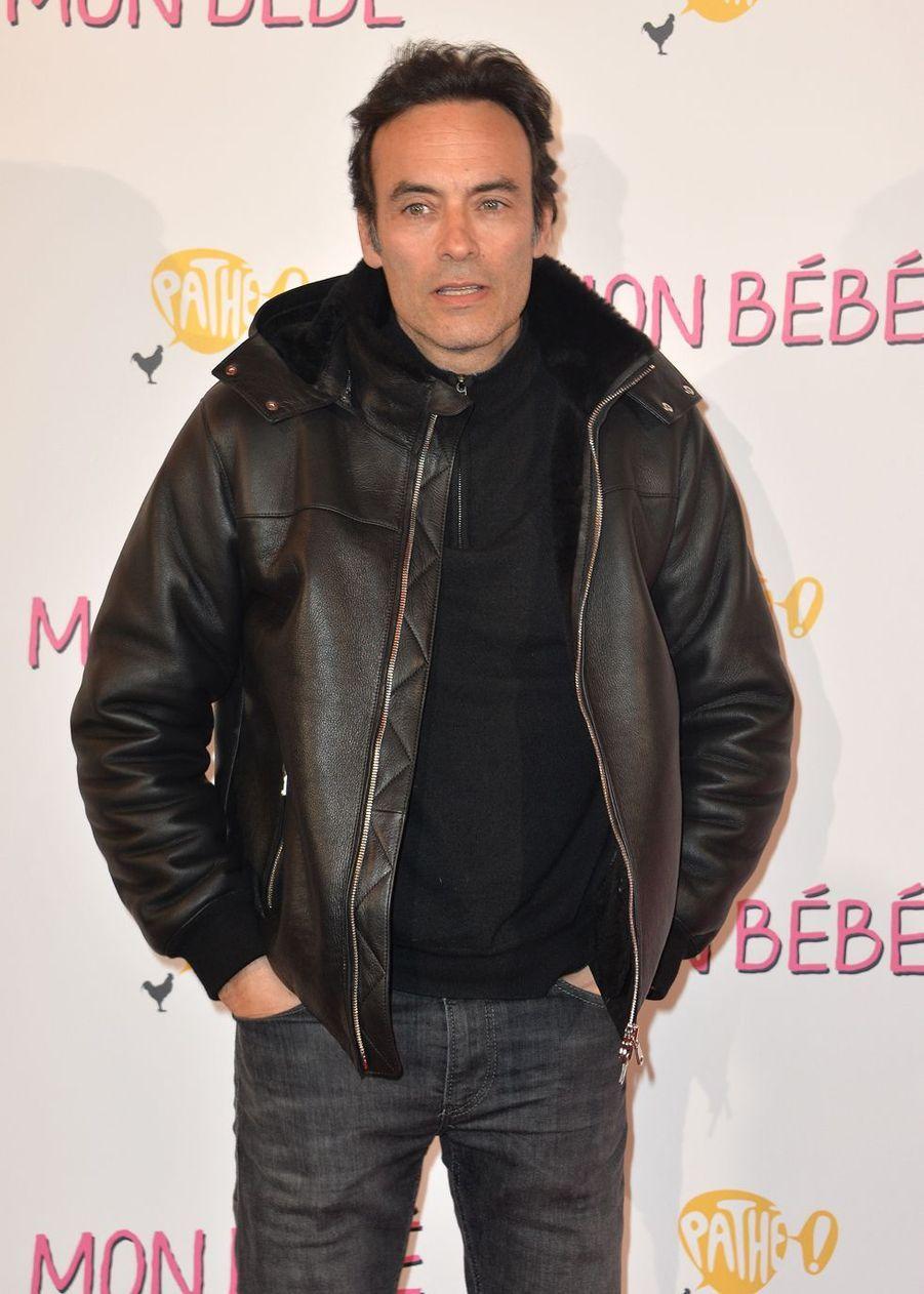 """Anthony Delonà l'avant-première du film """"Mon bébé"""" à Paris le 11 mars 2019"""