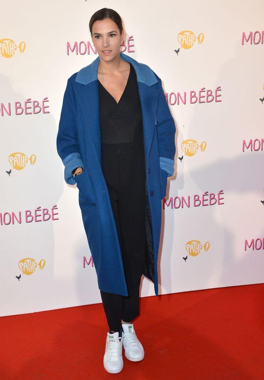 """Charlotte Gabrisà l'avant-première du film """"Mon bébé"""" à Paris le 11 mars 2019"""