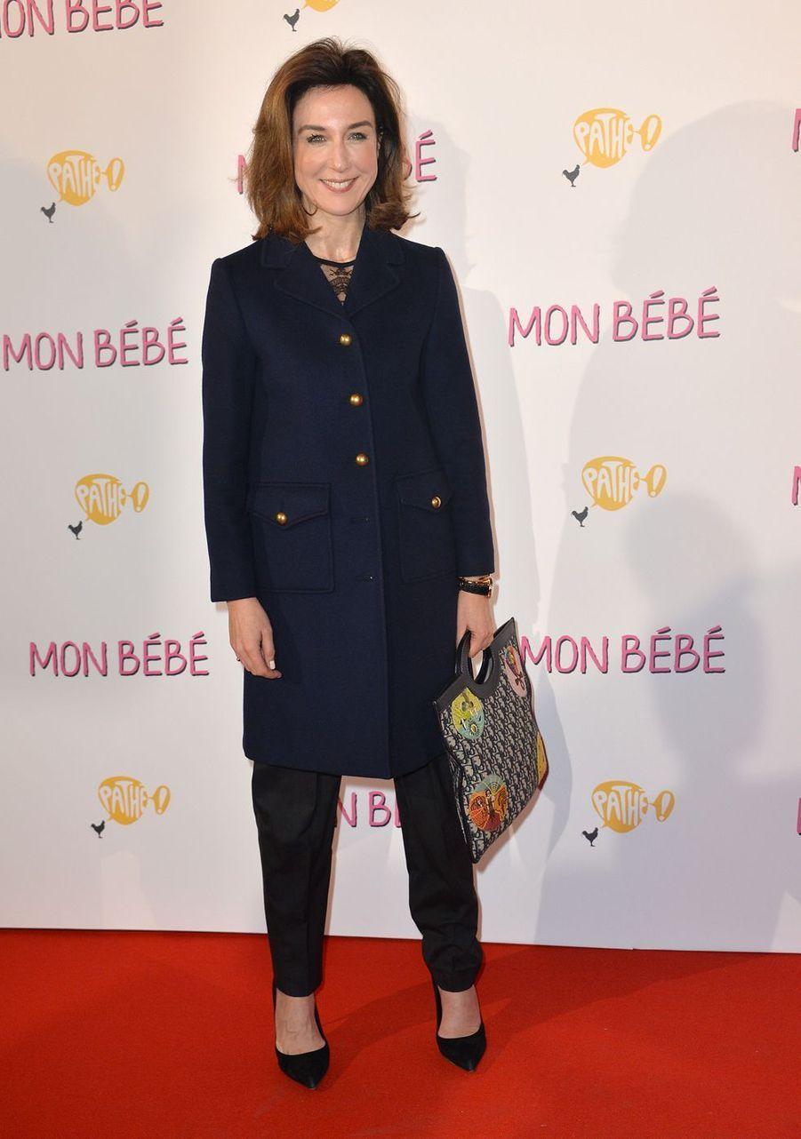 """Elsa Zylbersteinà l'avant-première du film """"Mon bébé"""" à Paris le 11 mars 2019"""