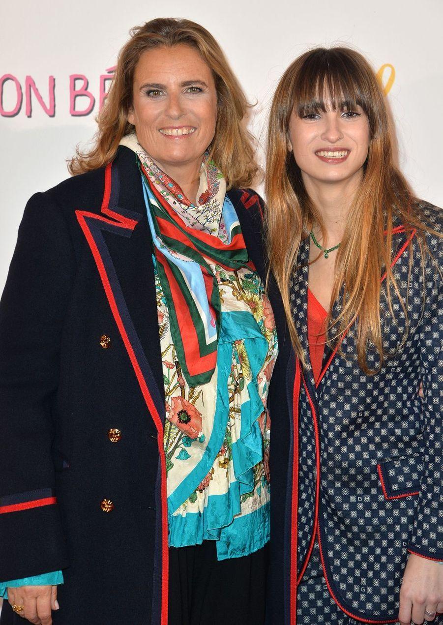 """Lisa Azuelos et Thaïs Alessandrin à l'avant-première du film """"Mon bébé"""" à Paris le 11 mars 2019"""