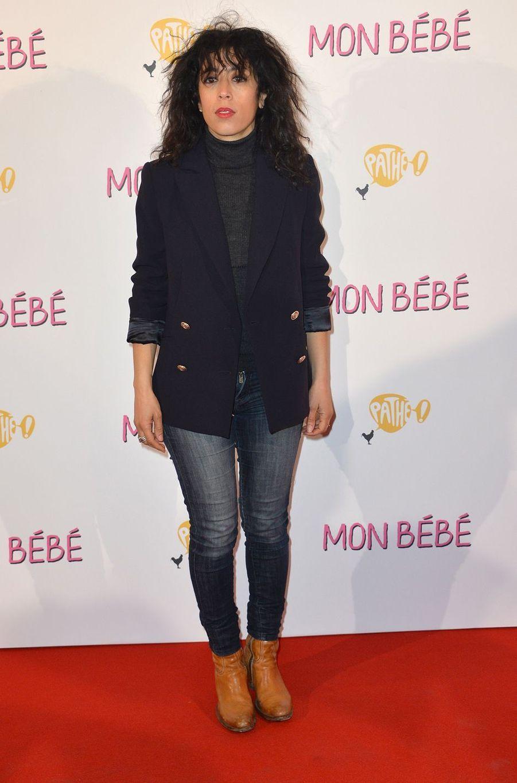 """Naidra Ayadià l'avant-première du film """"Mon bébé"""" à Paris le 11 mars 2019"""