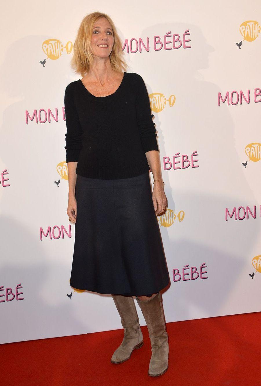 """Sandrine Kiberlainà l'avant-première du film """"Mon bébé"""" à Paris le 11 mars 2019"""