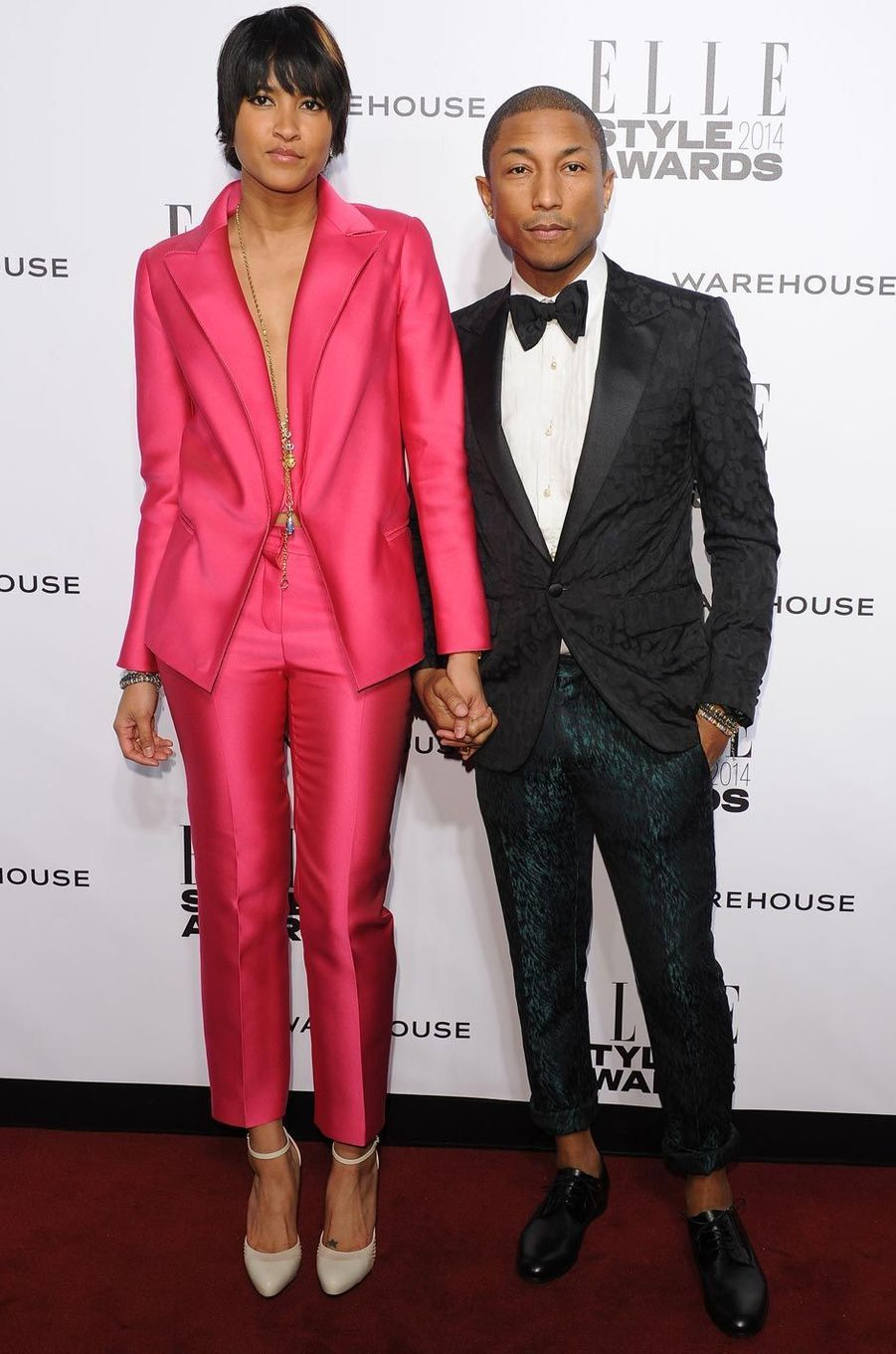 """A Londres pour la soirée """"Elle Style Awards"""" en 2013."""