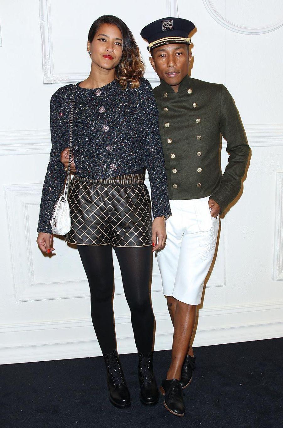 Le couple présent à une soirée Chanel à New York en 2015.