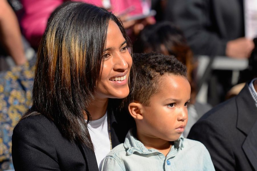 Helen Lasichanh et son fils Rocket Williams.