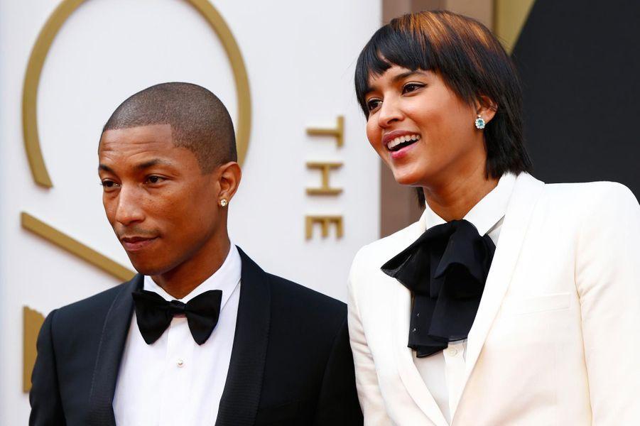 Le couple de stars aux Academy Awards en 2014