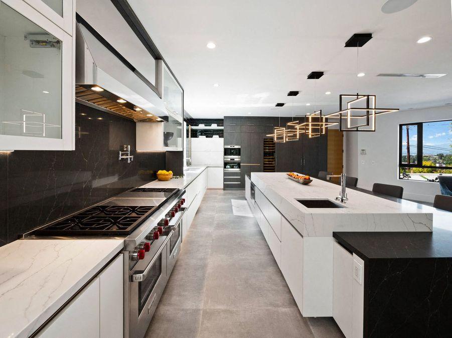 La cuisine de la maison.