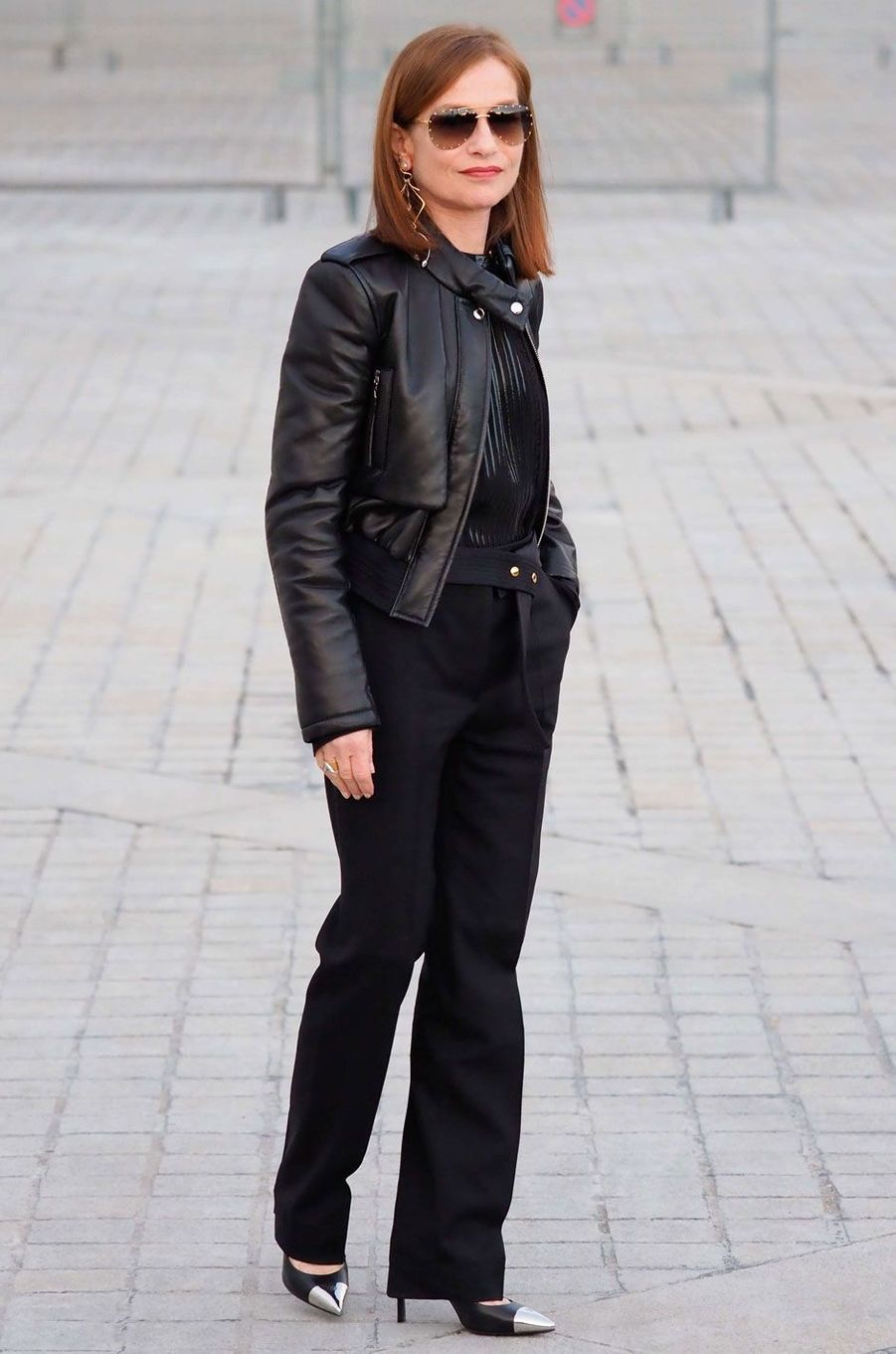 L'actrice Isabelle Huppert