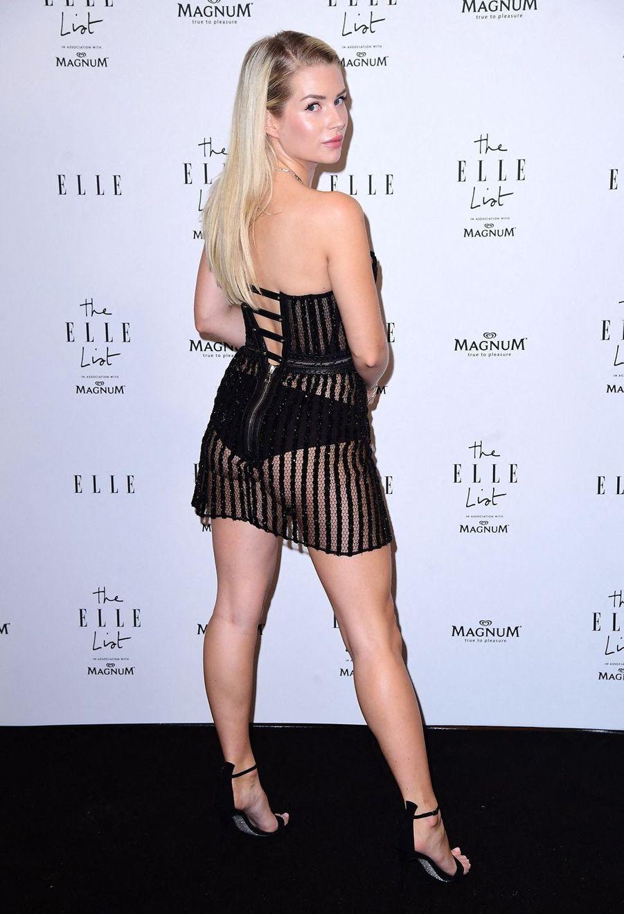 Lottie Moss à Londres, le 19 juin 2019
