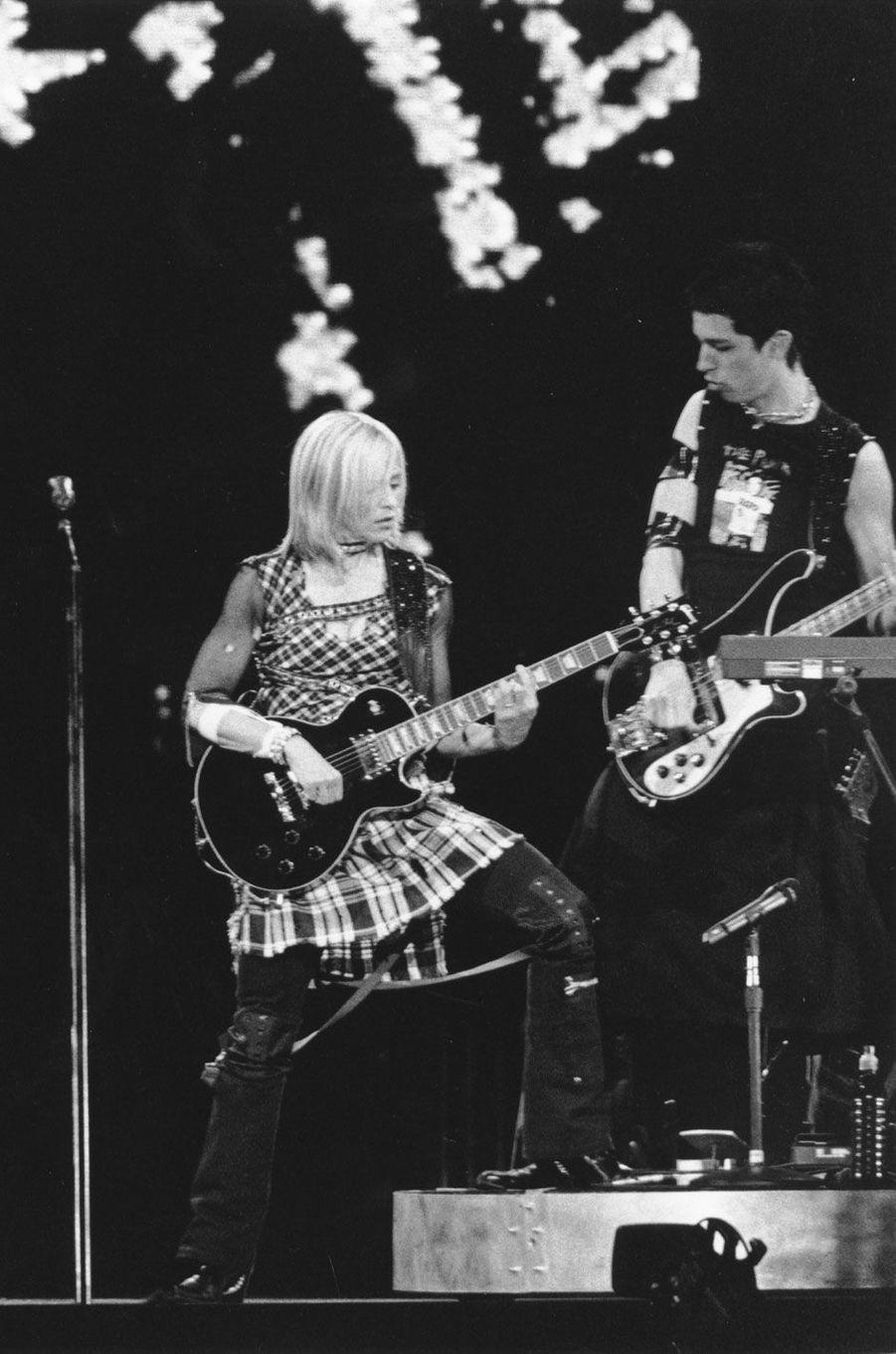 Madonna en 2001