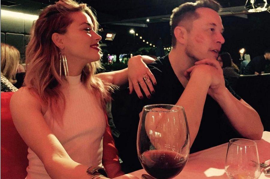 Amber Heard, 31 ans, et Elon Musk