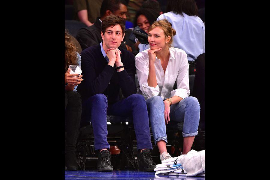 Karlie Kloss, 24 ans, et Joshua Keshner, 31 ans