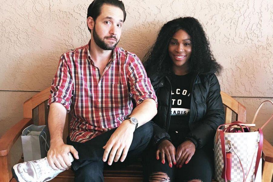 Serena Williams, 35 ans, et Alexis Ohanian, 33 ans.