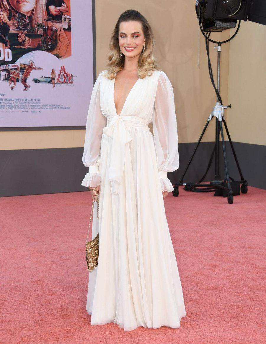 Margot Robbie à la première de «Once Upon A Time in Hollywood», lundi 22 juillet 2019