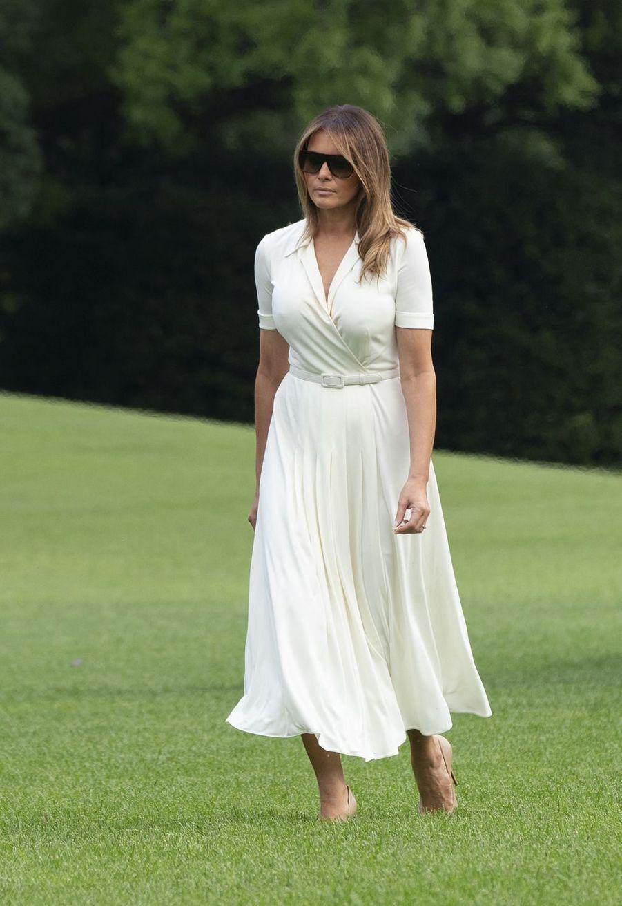 Melania Trump à la Maison Blanche en juillet 2019.
