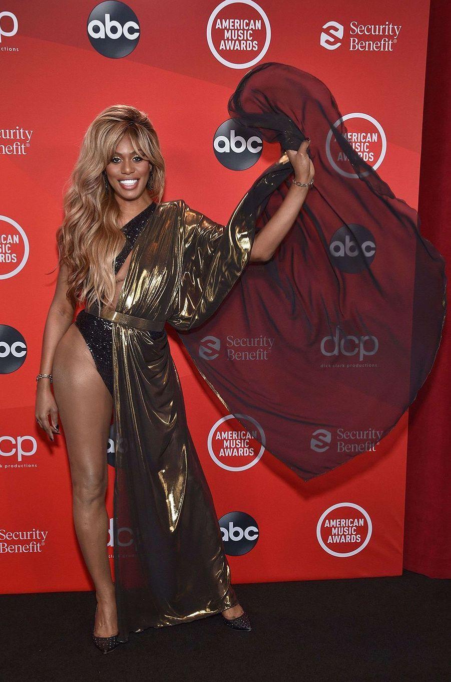 Laverne Coxaux American Music Awards à Los Angeles le 22 novembre 2020