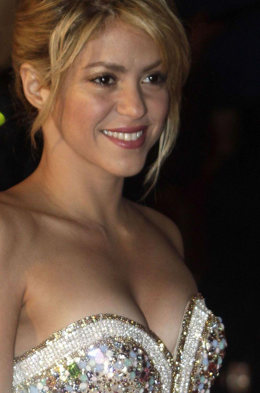 Shakira à Cannes en 2012.