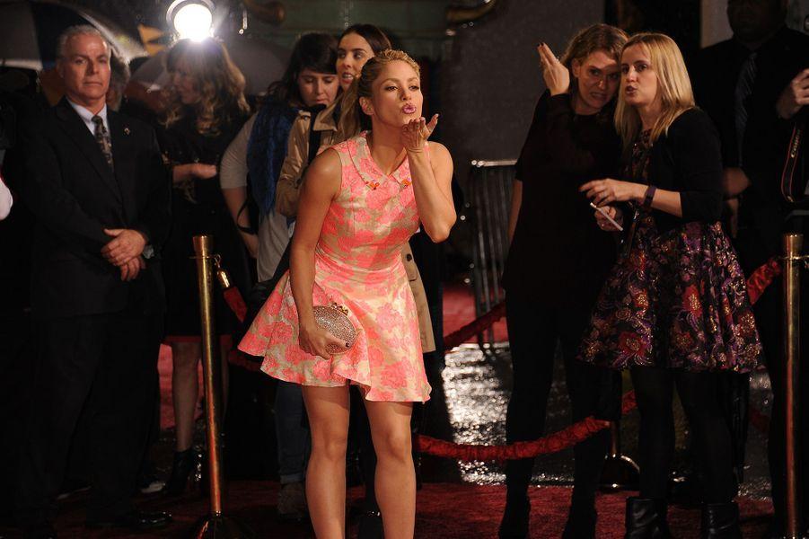 Shakira en 2016.