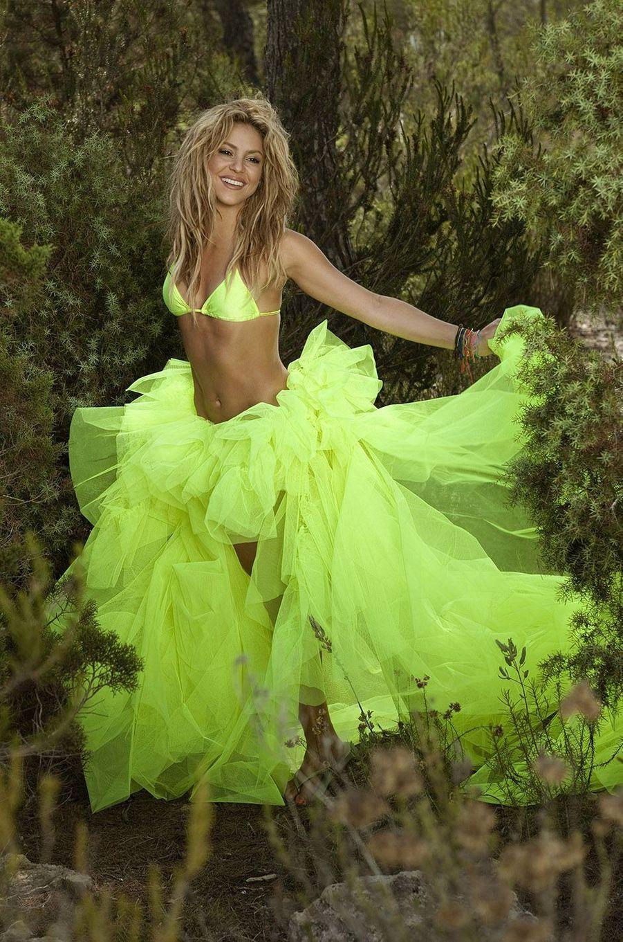 Shakira en 2011.