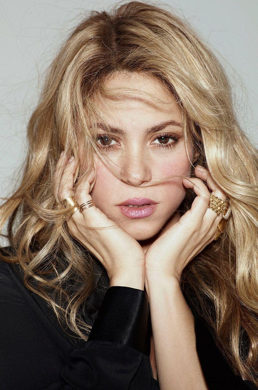 Shakira fête ses 40 ans.
