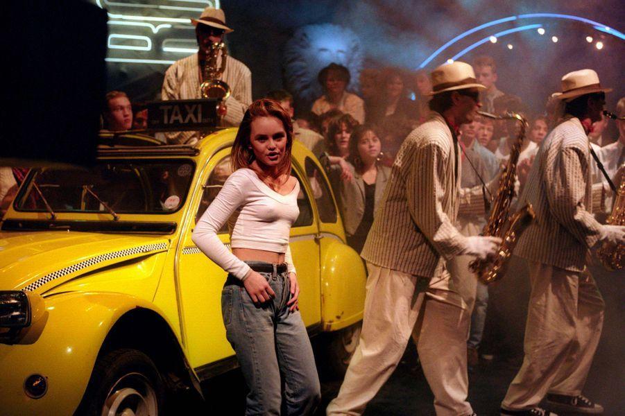 "Vanessa Paradis dans le clip de ""Joe le taxi"" en 1987"