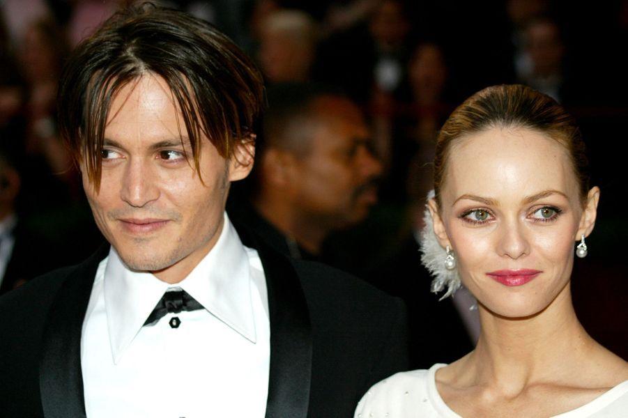 Vanessa Paradis avec Johnny Depp en 2004