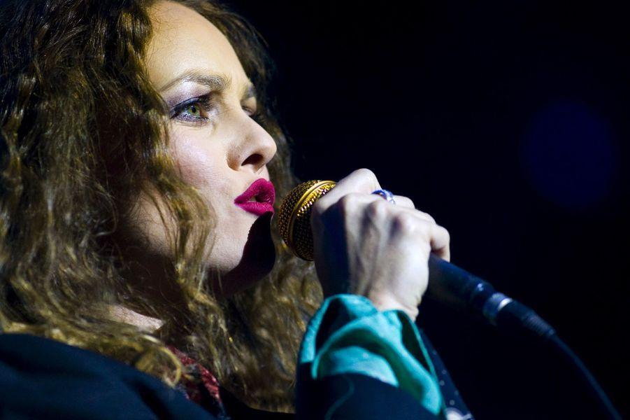 Vanessa Paradis en concert en 2008