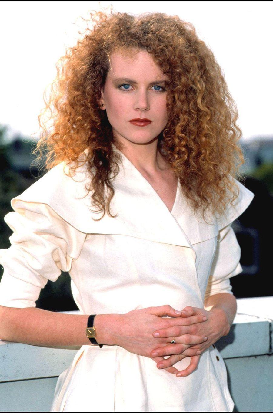 Nicole Kidman à Amsterdam en 1989.