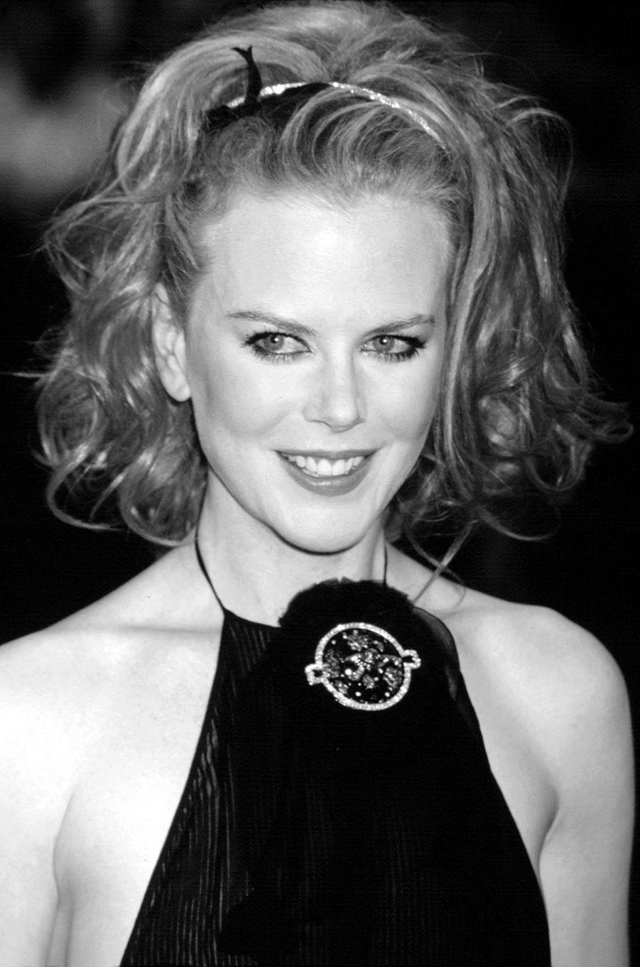"""Nicole Kidman à l'avant-première des """"Autres"""" à New York, en 2001."""