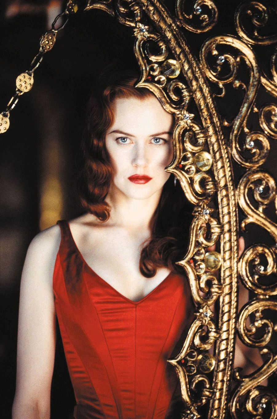 """Nicole Kidman dans """"Moulin Rouge"""" en 2001."""