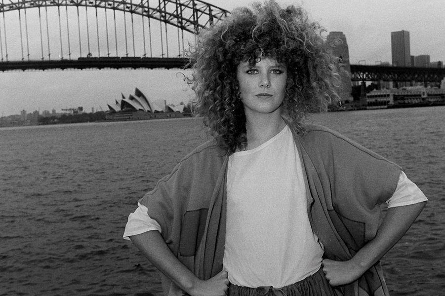 Nicole Kidman en 1983.
