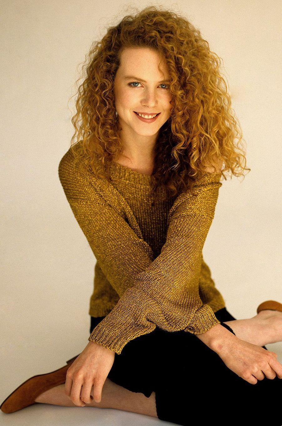 Nicole Kidman en 1990.