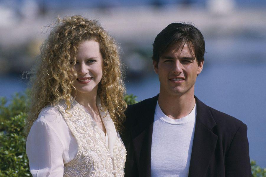 Nicole Kidman et Tom Cruise au festival de Cannes 1992.