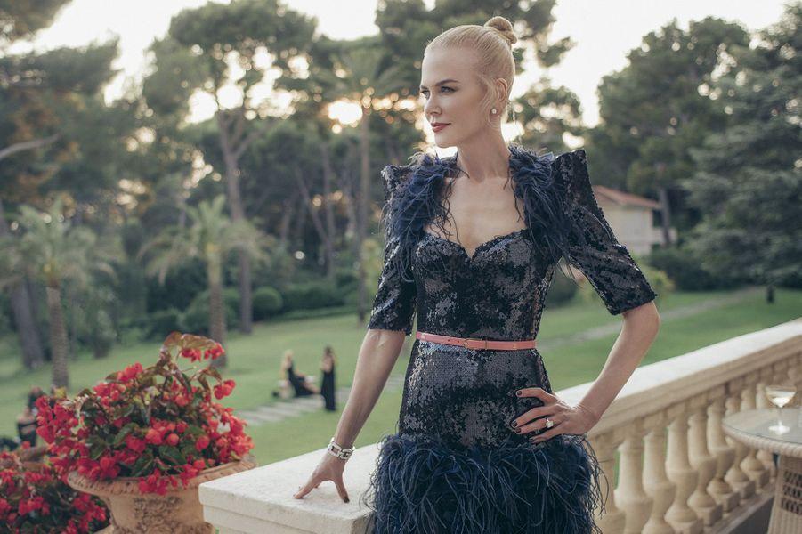 Nicole Kidman pose pour Paris Match, mai 2017.