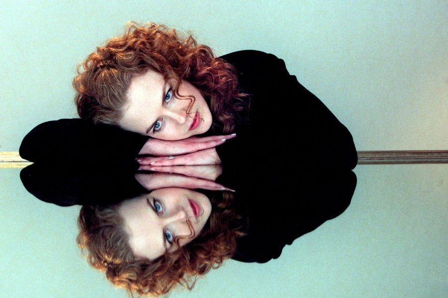"""Nicole Kidman en promotion pour """"Eyes Wide Shut"""", en 1999."""