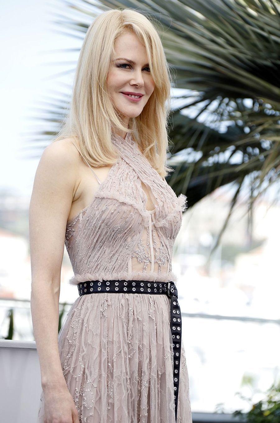 Nicole Kidman lors du 70e Festival de Cannes, mai 2017.