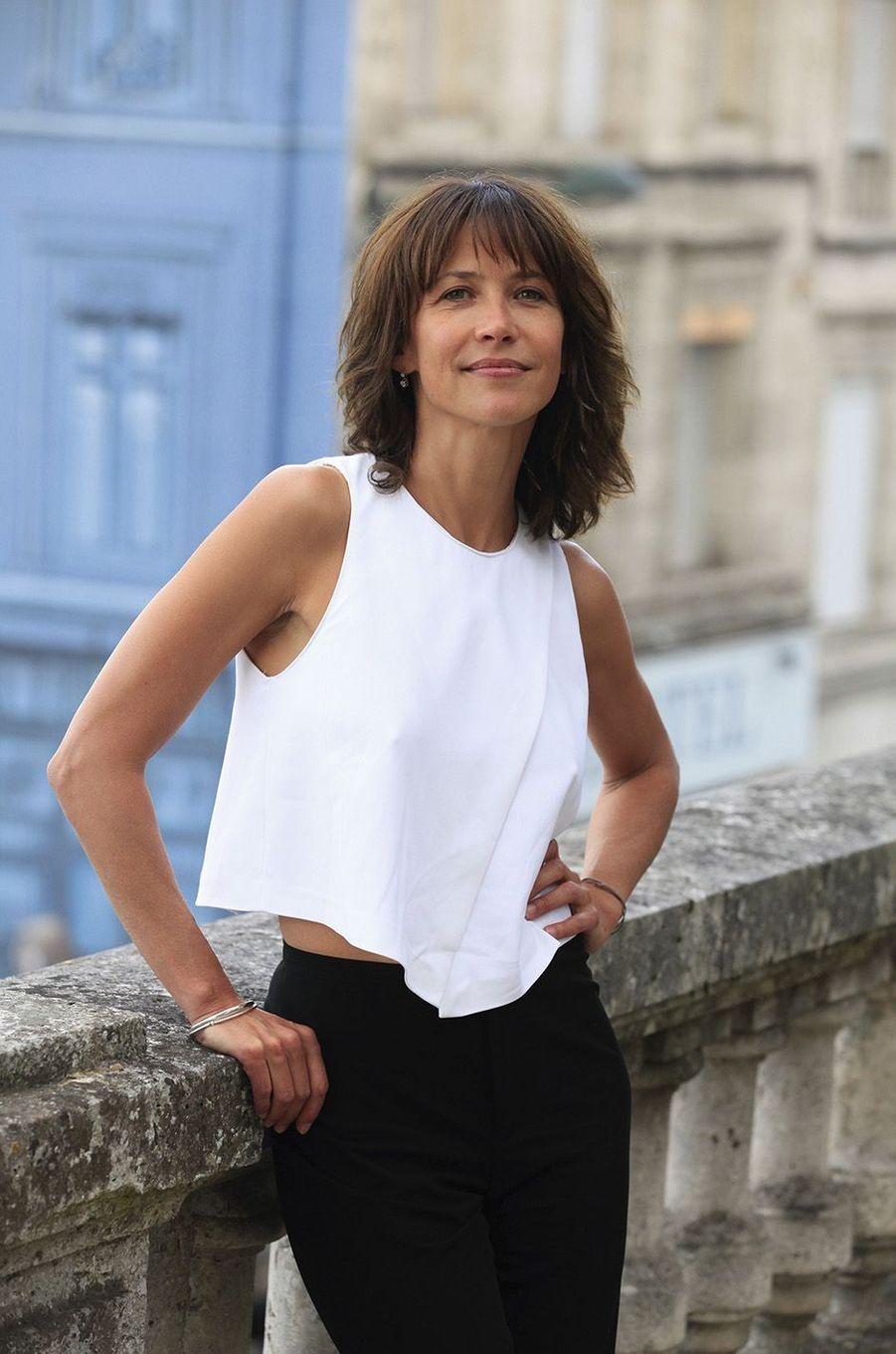 Sophie Marceau à Angoulême, en 2014.