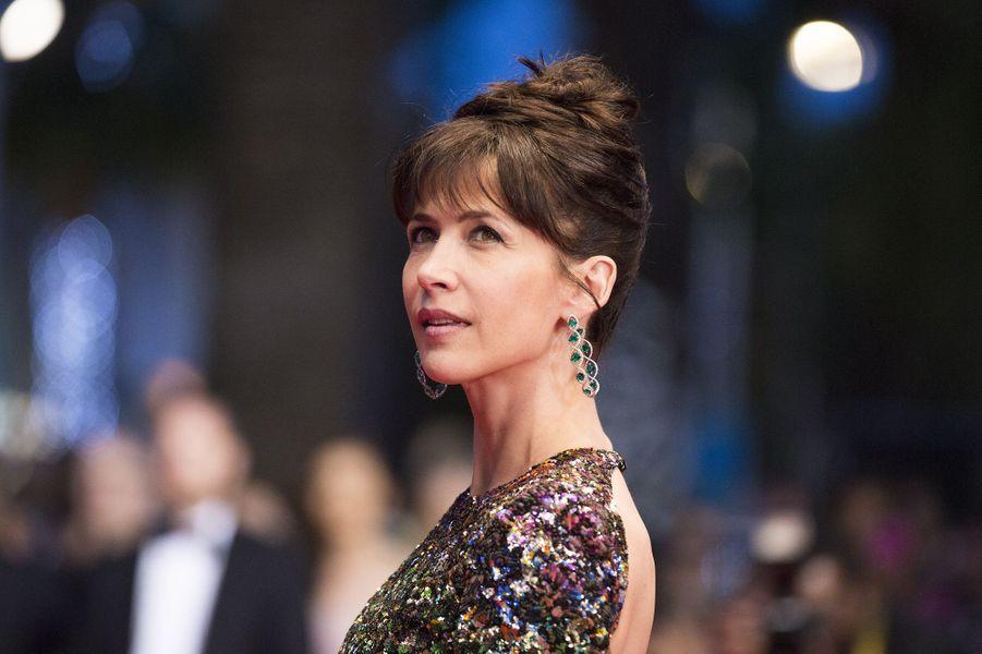 Sophie Marceau au festival de Cannes 2015.