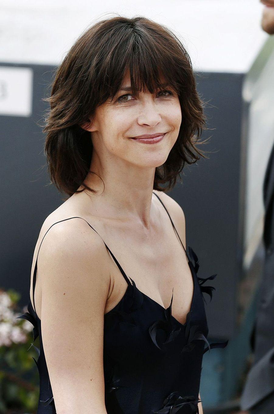 Sophie Marceau à Cannes en 2015.